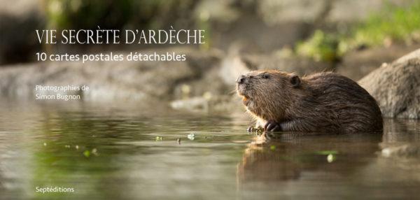 Carnet de cartes postales Vie secrète d'Ardèche